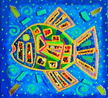 Fish Abstraction by JAYNEDEJESUS