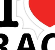 I Love CRACK Sticker