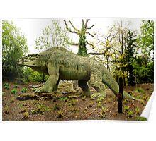 London - Crystal Palace - Dinosaur Poster