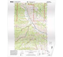 USGS Topo Map Washington State WA Nile 242823 2000 24000 Poster