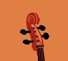 Cello Scroll VRS2 by vivendulies
