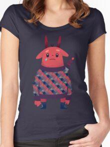 Sword Bunny Women's Fitted Scoop T-Shirt