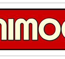 Vintage Minimoog Synth Sticker