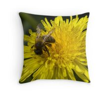 A weed in my garden Throw Pillow
