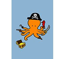 Pirate Octopus Photographic Print