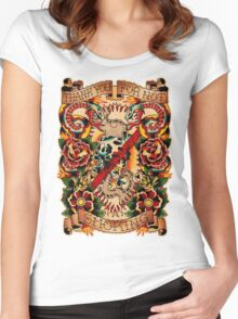 Informative Signs - Set 01 - Smoking Women's Fitted Scoop T-Shirt