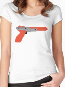 8 bit zapper Women's Fitted Scoop T-Shirt