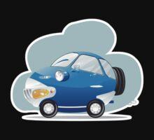 Blue car Kids Tee