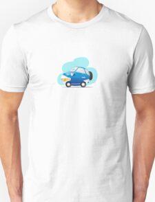 Blue car Unisex T-Shirt