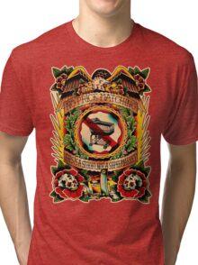 Informative Signs - Set 01 - No price matching Tri-blend T-Shirt