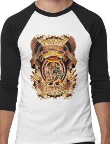 Informative Signs - Set 01 - Electric tattooing Men's Baseball ¾ T-Shirt