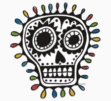 Sugar Skull - sharpie Kids Clothes