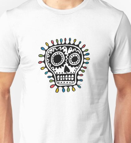 Sugar Skull - sharpie Unisex T-Shirt