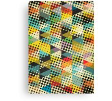 Dots and Triangles II Canvas Print