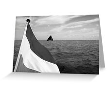 Sailing on the IJsselmeer, The Netherlands Greeting Card