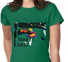 yapilopi - take it easy Womens Fitted T-Shirt