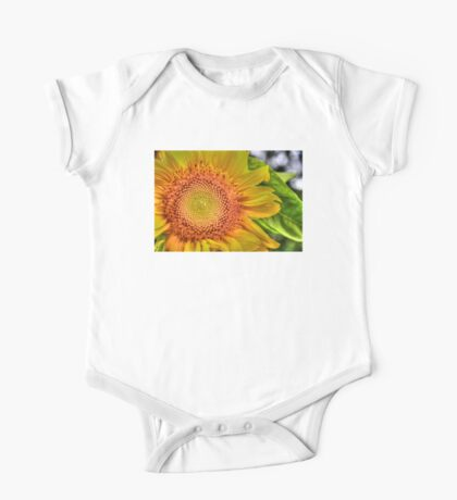 Mom and Baby matching Sunflower QTees Kids Clothes