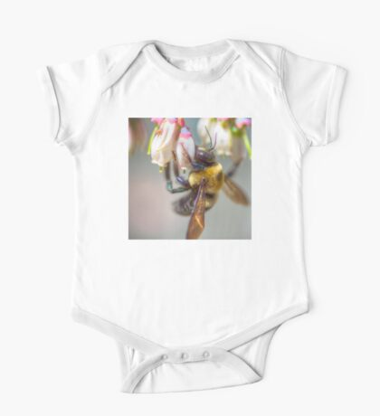 Mom and Baby matching Bee Back at 3:30 pm outfits One Piece - Short Sleeve