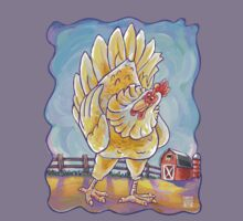 Animal Parade Chicken Kids Tee