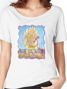 Animal Parade Chicken Women's Relaxed Fit T-Shirt