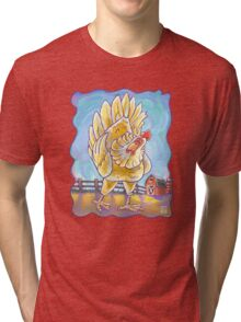 Animal Parade Chicken Tri-blend T-Shirt