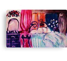 My restful hideaway, watercolor Canvas Print