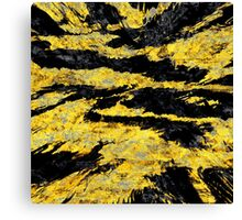 abstract abnormality yb Canvas Print