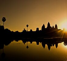 Sunrise at Angkor Wat by Simon Kirwin