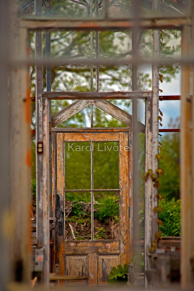 Thru Times Window by Karol Livote