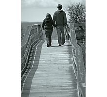 Moments With Dad Photographic Print