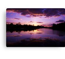 Cambodian Sunset Canvas Print