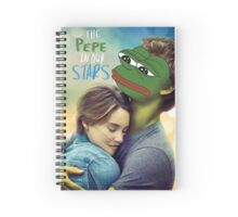 The Pepe in our Stars Spiral Notebook