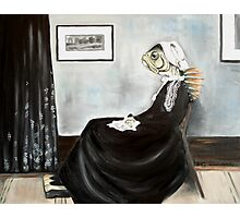 Whistler's Mother (as a fish) Photographic Print