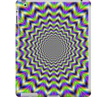Psychedelic Star in Yellow Pink Blue and Green iPad Case/Skin