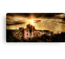 Old Montalto at Sunset Canvas Print