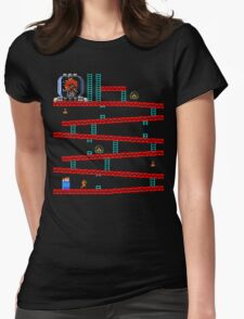 Metroid Kong Womens Fitted T-Shirt