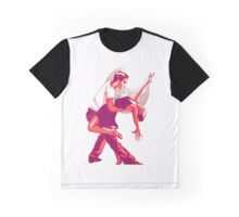 Strictly Salsa Couple Dancing With Glitter Ball Graphic T-Shirt