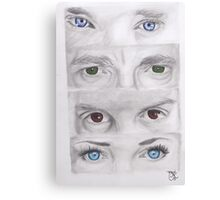 """Sherlock"" Eyes Canvas Print"