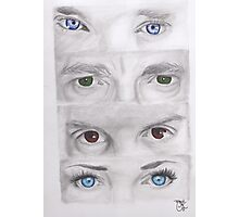 """Sherlock"" Eyes Photographic Print"