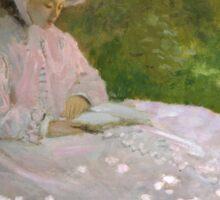 Springtime by Claude Monet Sticker