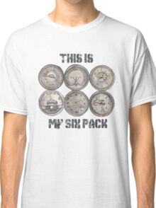 """""""This Is My Six Pack"""" Classic T-Shirt"""