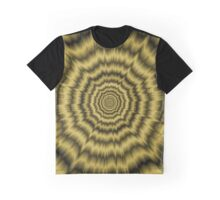 Eye Boggling Explosion in Gold Graphic T-Shirt