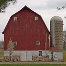 Old Red Barn by Anthony Roma
