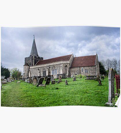 All Saints Church Frindsbury Poster