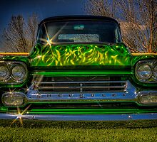 Green, Flamed & Grounded by Steve Walser