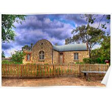 The Station Masters House - Goolwa, South Australia Poster