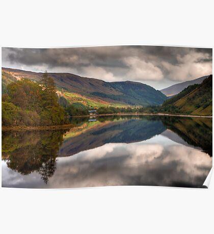 Loch Dùghaill, Scotland, UK Poster