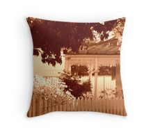 In a quieter place Throw Pillow