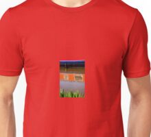 Canal Boat Abstract Unisex T-Shirt
