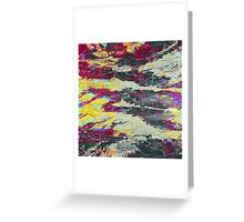 abstract abnormality 3 Greeting Card